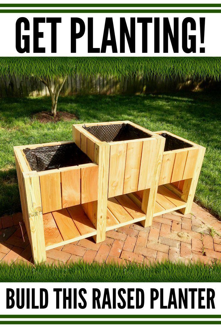 Jones Tiered Raised Veggie Garden In 2020 Veggie Garden Outdoor Herb Garden Raised Planter