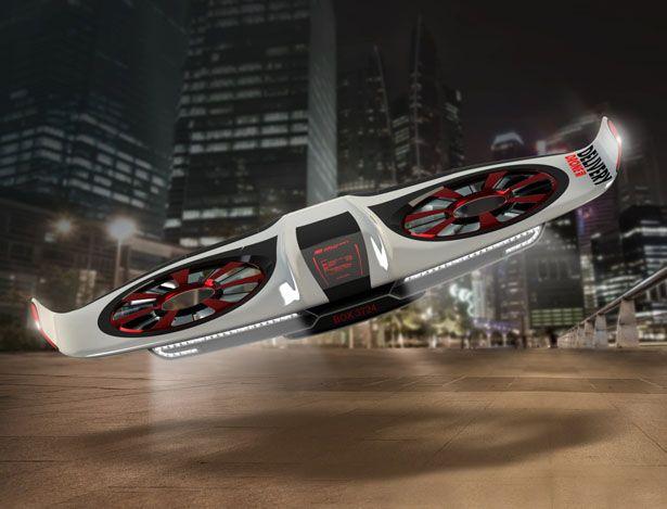 Delivery Drone Concept By WiGL Design Future Drones
