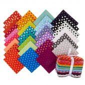 Kaffe Classics - Spot Candy Fat Quarter Bundle - Kaffe Fassett - Free Spirit Fabrics — Missouri Star Quilt Co.