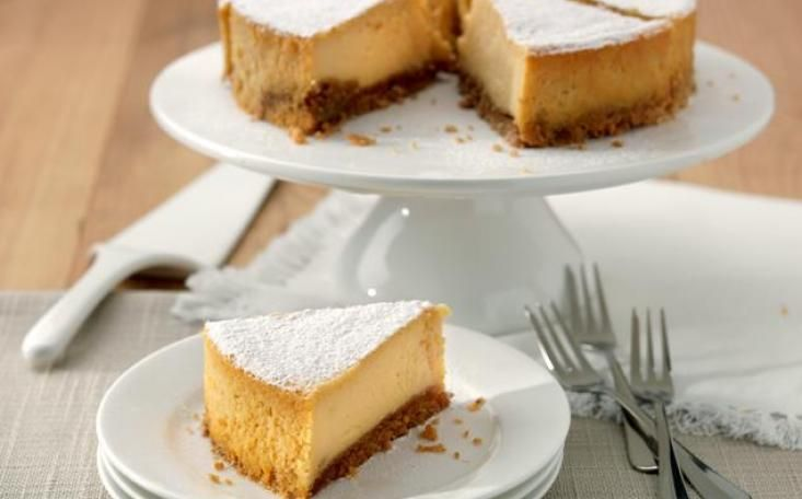 Discover our authentic, creamy dessert. This New York Cheesecake is ...