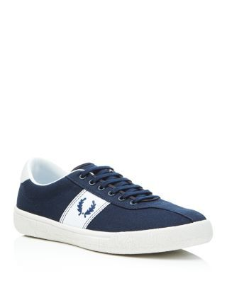 Fred Perry Lace Up Tennis Sneakers   Bloomingdale's