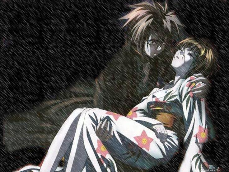 Saya & Train Heartnet | Anime Black Cat