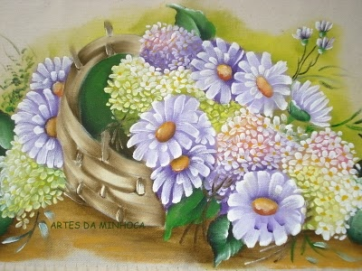 daisies and hydrangeas