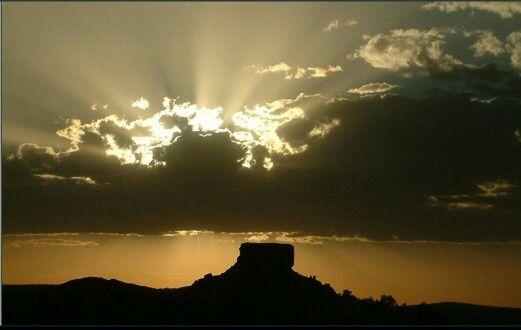 Sunset Soutkop Freestate South Africa