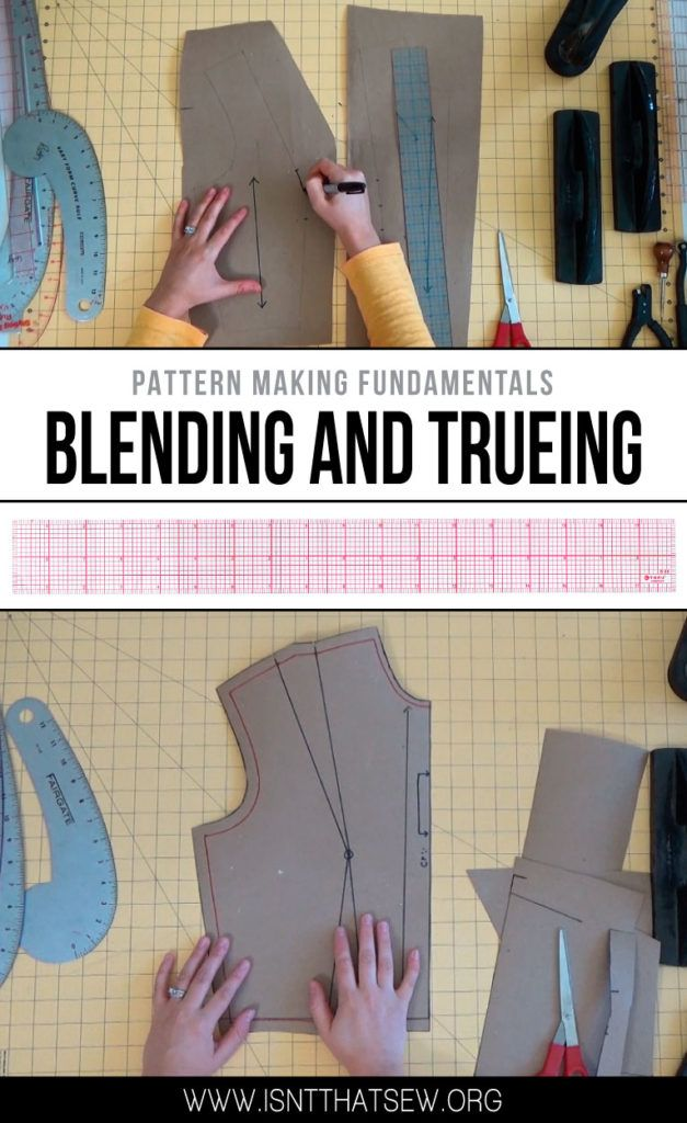 Pattern Making Fundamentals: Blending and Trueing