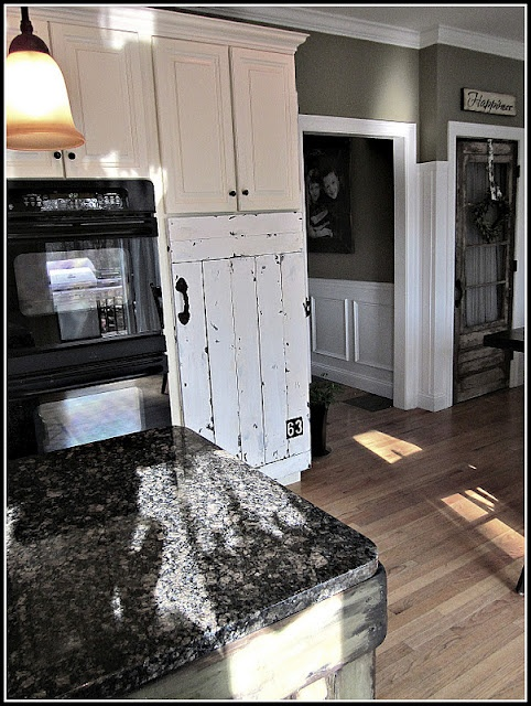 replacement cabinet door barn door style