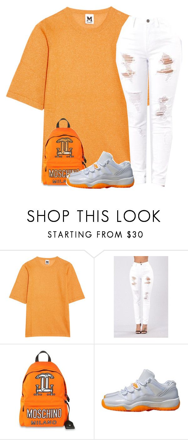"""Untitled #595"" by ramenmatty ❤ liked on Polyvore featuring M Missoni, Moschino and NIKE"