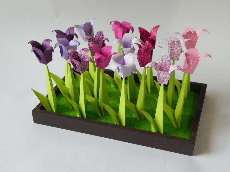 decora tu espacio con flores duraderas. Origami hecho a tu medida www.origamistica.com - llamanos