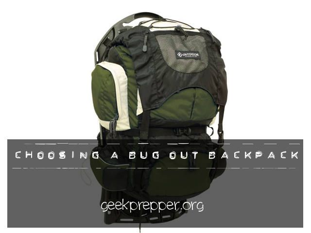 Choosing a Bug Out Backpack is a journey not a destination. As long as you keep that in mind, you won't kick yourself every time you find a better bag.
