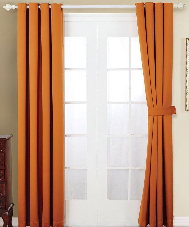 Bedroom Curtains At Sears Light Blue Carpet Bedroom Bedroom Color Ideas Diy Bedroom Wall Decor Ideas: Best 25+ Burnt Orange Curtains Ideas On Pinterest