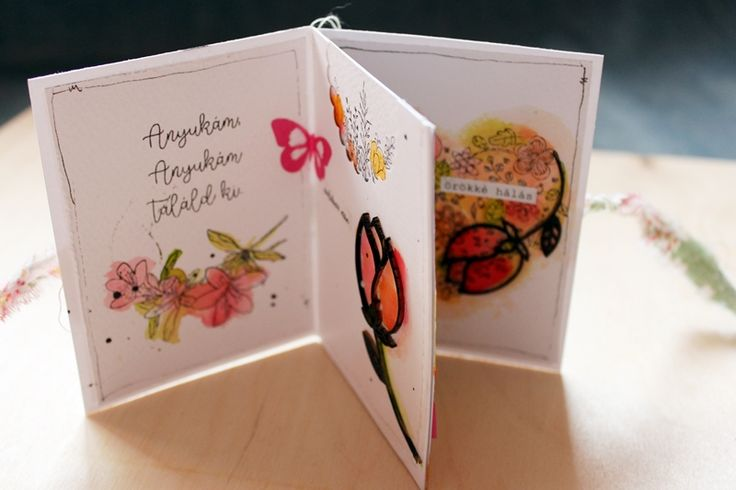 scrapbook minialbum tutorial by Tamara Tihany