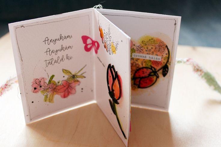 scrapbook minialbum tutorial by Tamara Tihany