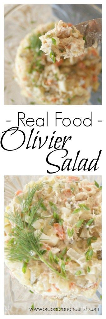 Olivier Salad - Real Food Style with nutrient boosting ingredients - #whole30 #paleo and #GAPS variation