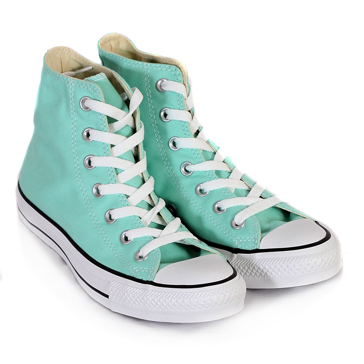 Converse All Star Hi in Beach Glass Green