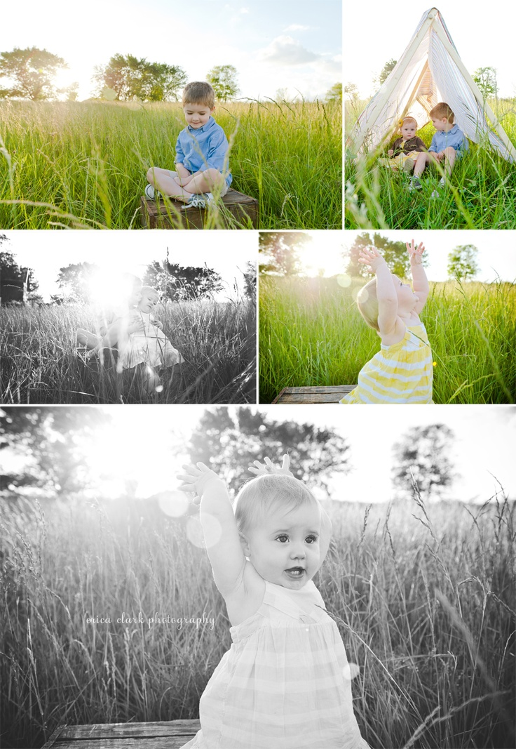 pretty family sunset session with The Craigs {photo credit - erica clark photography}
