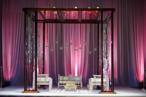 Modern Simple Mandap