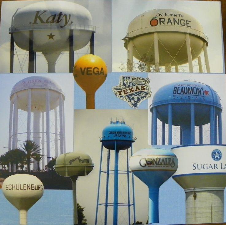 Water Towers - Scrapbook.com