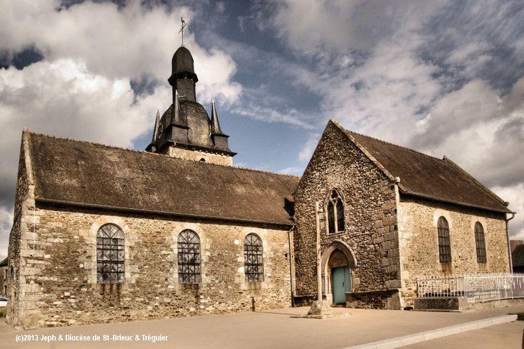Église Ste-Brigide, à Trigavou.