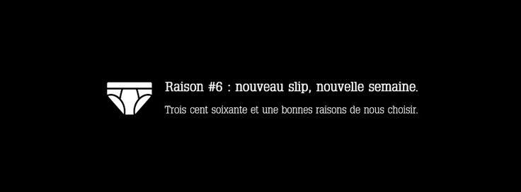 Raison 6 : #slip