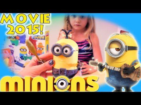 Minions Movie 2015 Toy Deluxe Action Figure - Build-A-Minion Pirate | CRO-Minion |2015 new - YouTube