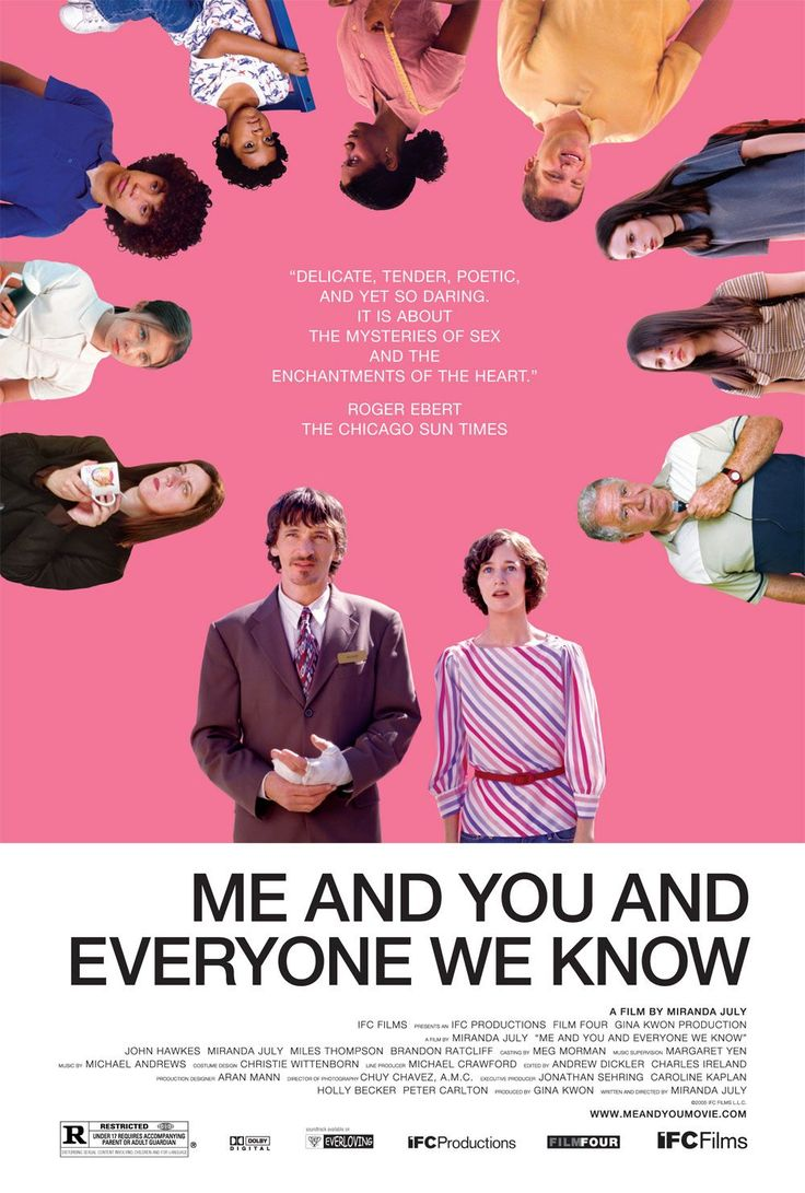 Me and You and Everyone We Know (2005). Written and directed by Miranda July.