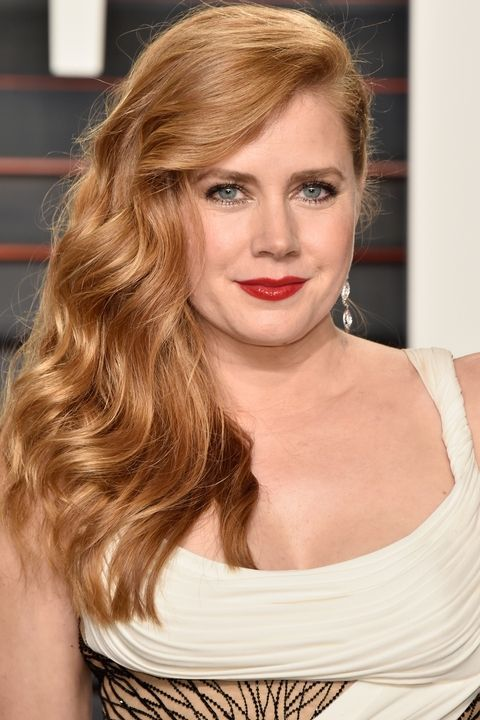 Here's what happens when Hollywood's golden manes are splashed with just the right amount of red: Amy Adams.