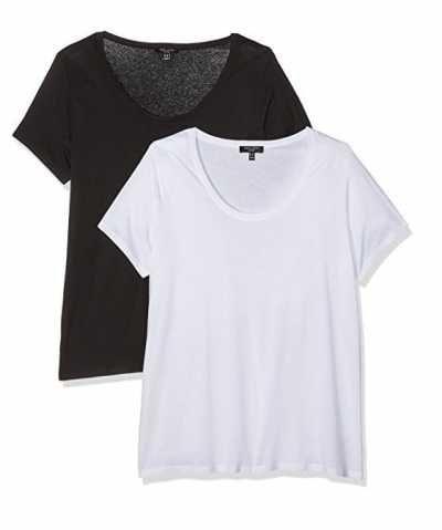 New Look Curves Voop Camiseta para Mujer Ofertas especiales y promociones  Caracteristicas Del Producto: - Precio mínimo en los 30 días previos a la o