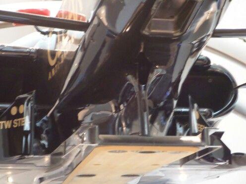 F1 car back side