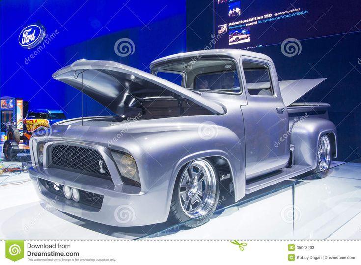 sema car show las vegas | sema-car-show-las-vegas-nov-old-classic-ford-booth-las-vegas-navada ...