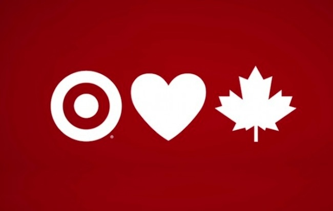 Target...sharing the love with Canadians!