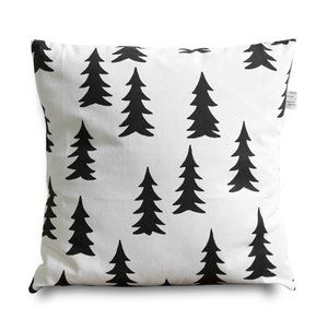 Trees: Trees Pillows, Pillows Covers, Pillows Cases, Pillow Cases, Cushions Covers, Gran Black, Black Pillows, Pillowcases, Fine