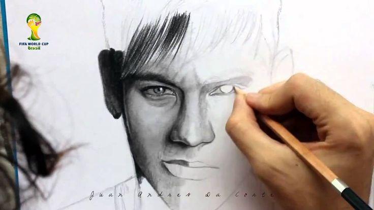 Desenhando Neymar JR