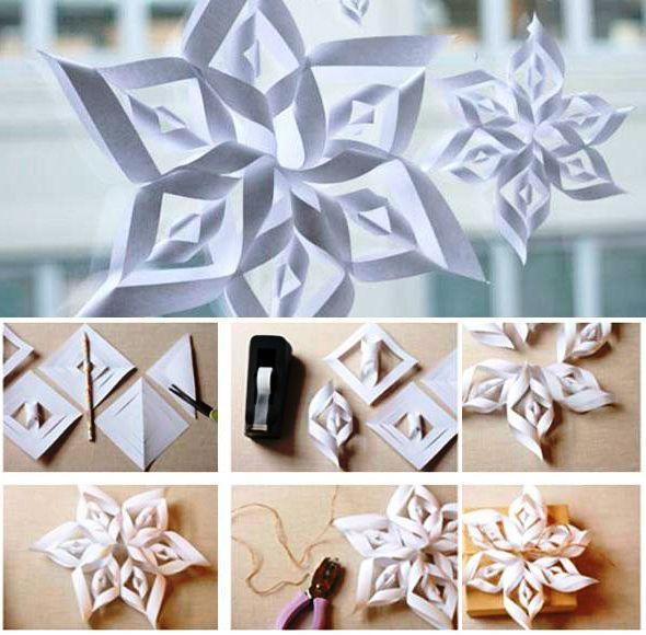de hoeveelheid papier sneeuwvlok