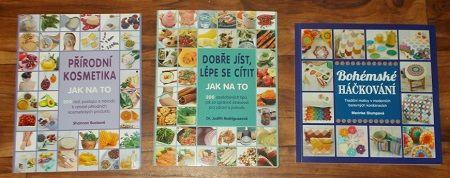Receptová soutěž o tři knihy