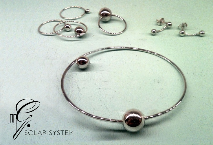 bracelet and rings - work solo or as a combination