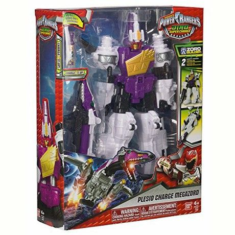 Power Rangers Dino Supercharge Deluxe Plesio Charge Megazord Figure