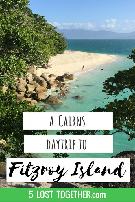 A day trip from Cairns, Australia