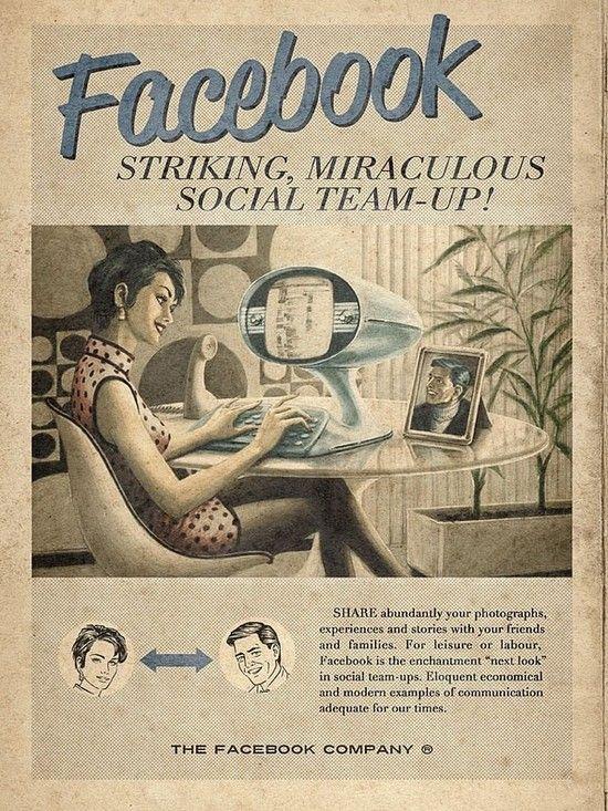 """Vintage"" Internet Ad"