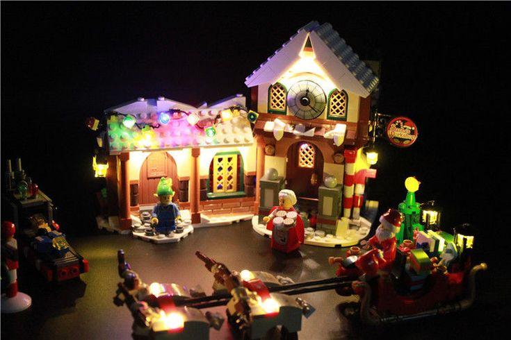 (Led Light Kit) For Lego 10245 Santa's Workshop The Father Christmas' Winter