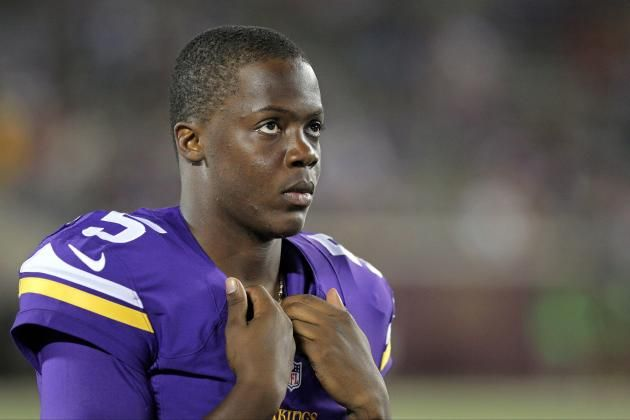 Teddy Bridgewater, QB, Minnesota Vikings -Our promising hope for the future.