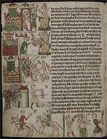 Universitätsbibliothek Heidelberg, Cod. Pal. germ. 164 Eike  Heidelberger Sachsenspiegel Ostmitteldeutschland, Anfang 14. Jh.