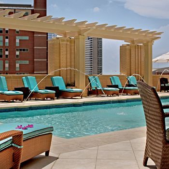 Top 27 ideas about lush swimming pools hint hint mummy on for Hotels in dallas with indoor pools