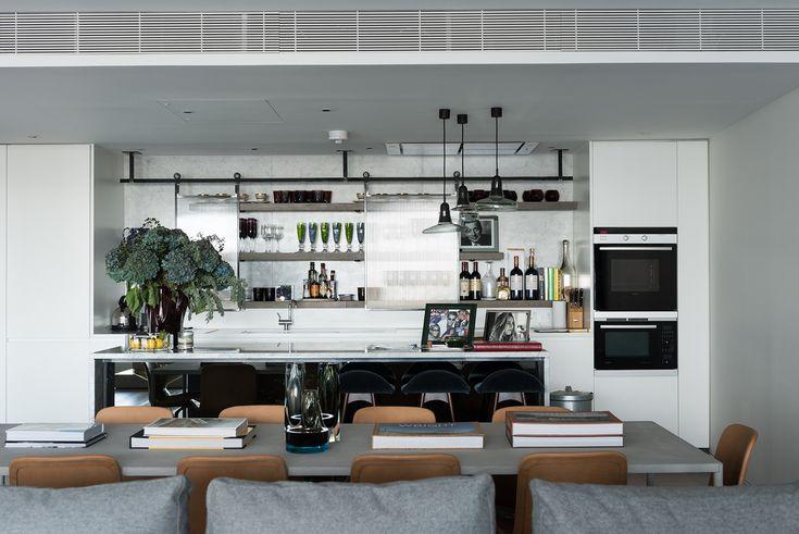 Mejores 21 imágenes de Tara Bernerd :: Apartment on the Thames ...