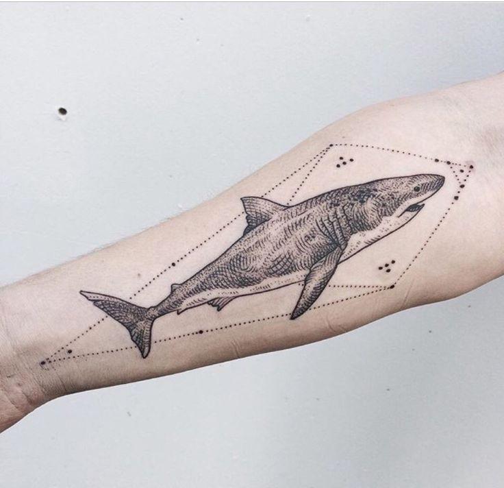 #shark #tattoo                                                                                                                                                     More