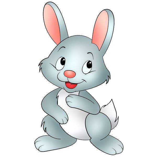 clipart rabbit cartoon - photo #15