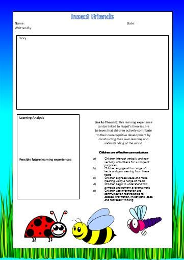 Designed by Teachers » The Complete Set of 42 EYLF Learning Story Templates