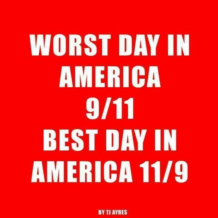 Celebration on 11/9.. from tragedy on 9/11
