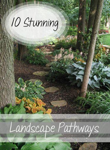 Backyard Garden Tutorial : Stunning landscape pathways gorgeous backyard