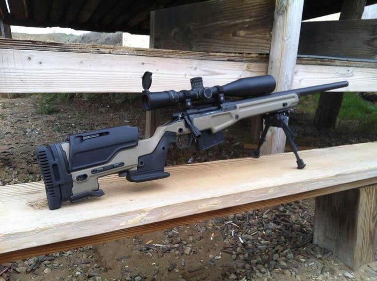 Remington 700 with JAE-700 kit.