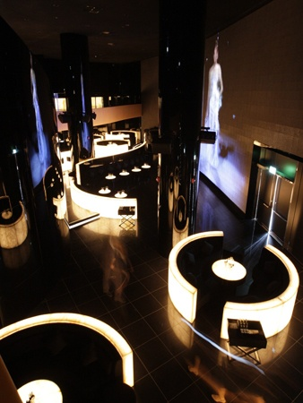 Armani night club in Dubai